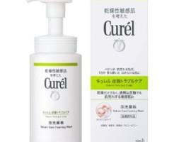 キュレル 皮脂トラブルケア泡洗顔料