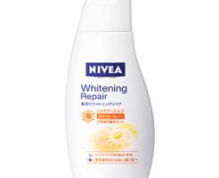 ニベア 薬用ホワイトニングリペアUVボディミルク